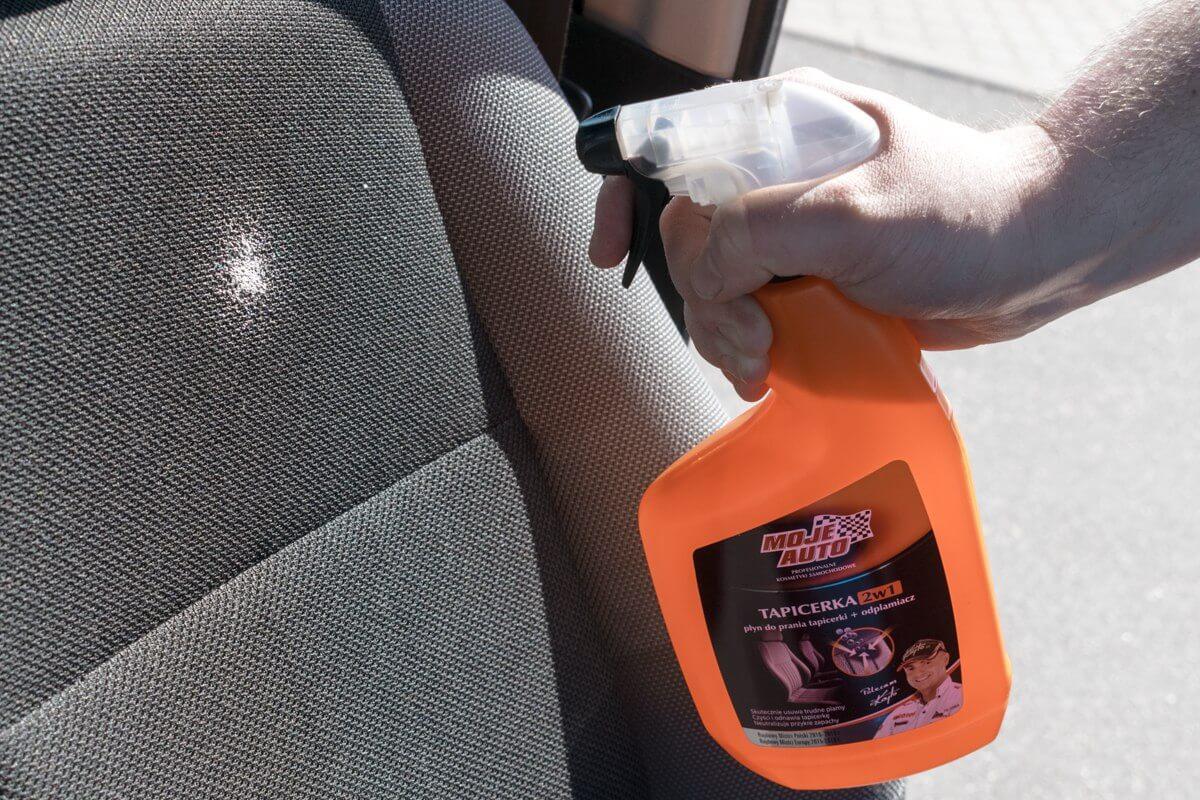 Preparat do tapicerki samochodowej