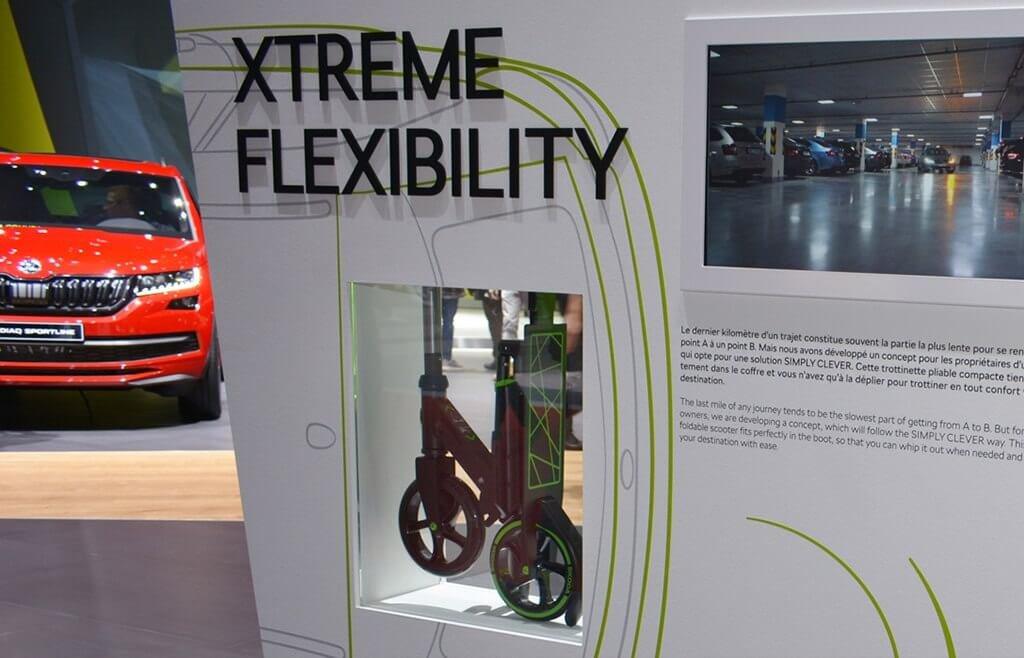 Skoda Xtreme Flexibility