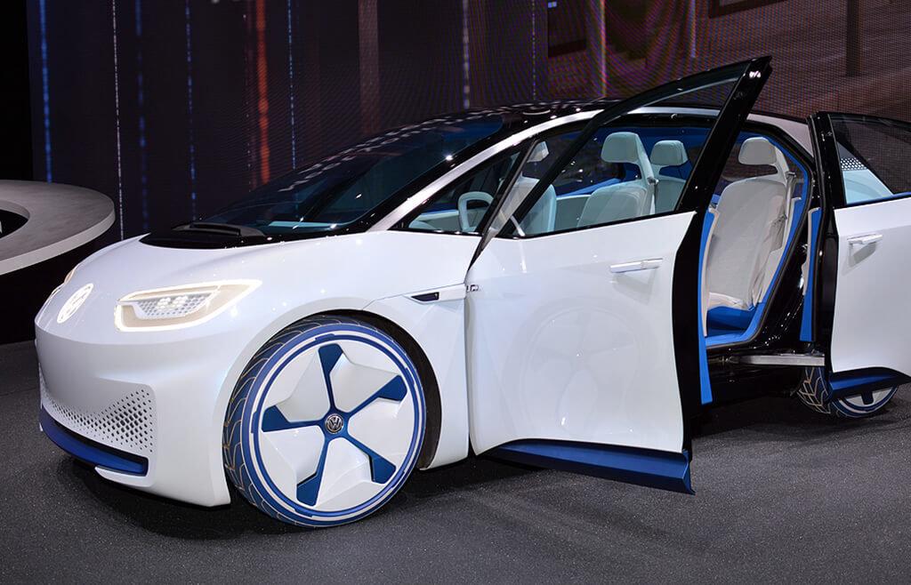 Volkswagen ID naekspozycji