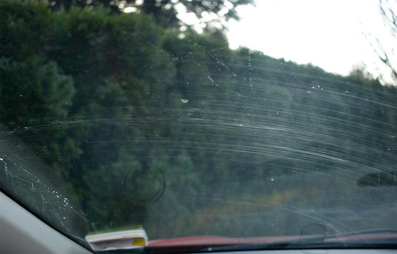 Szyby samochodowe - insekty