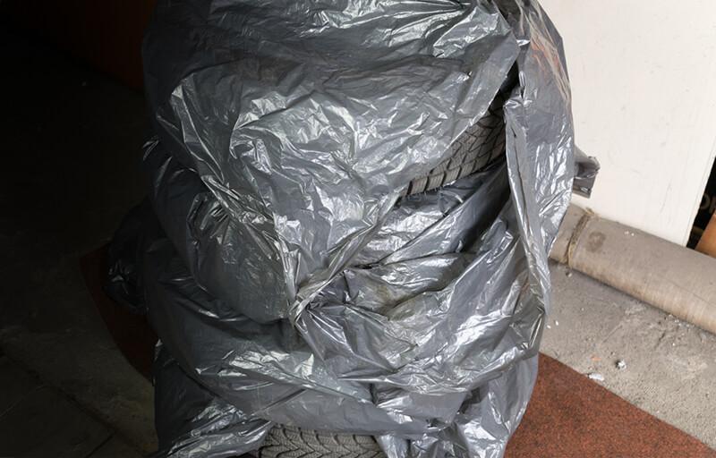 Zapakowane opony