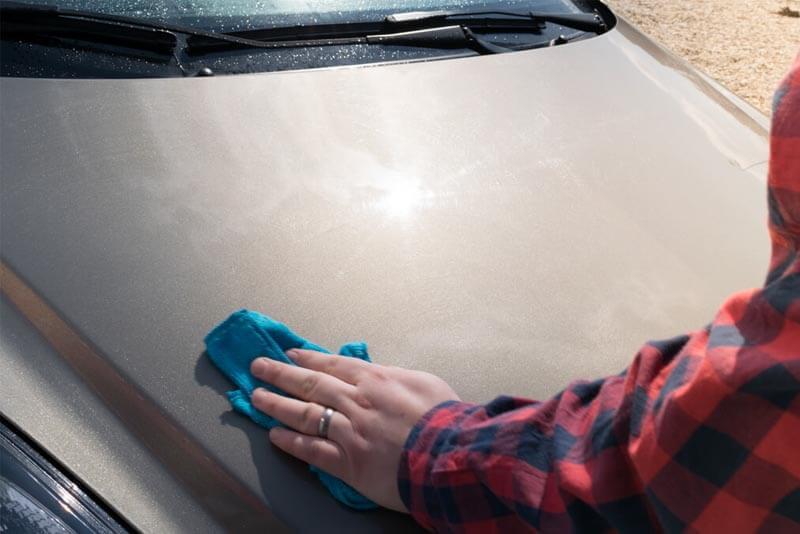 Osuszanie samochodu