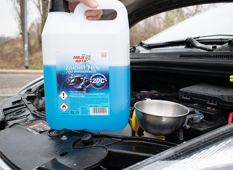 Płyn do spryskiwaczy Moje Auto zimowy