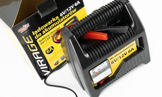 Ładowanie akumulatora prostownikiem