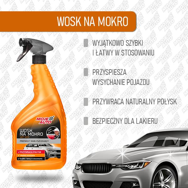 Wosk namokro - cechy