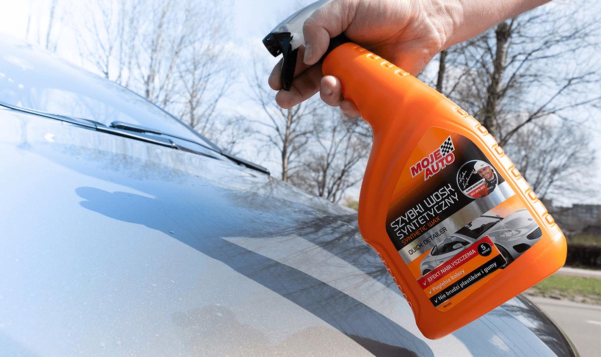 Szybki wosk syntetyczny Moje Auto