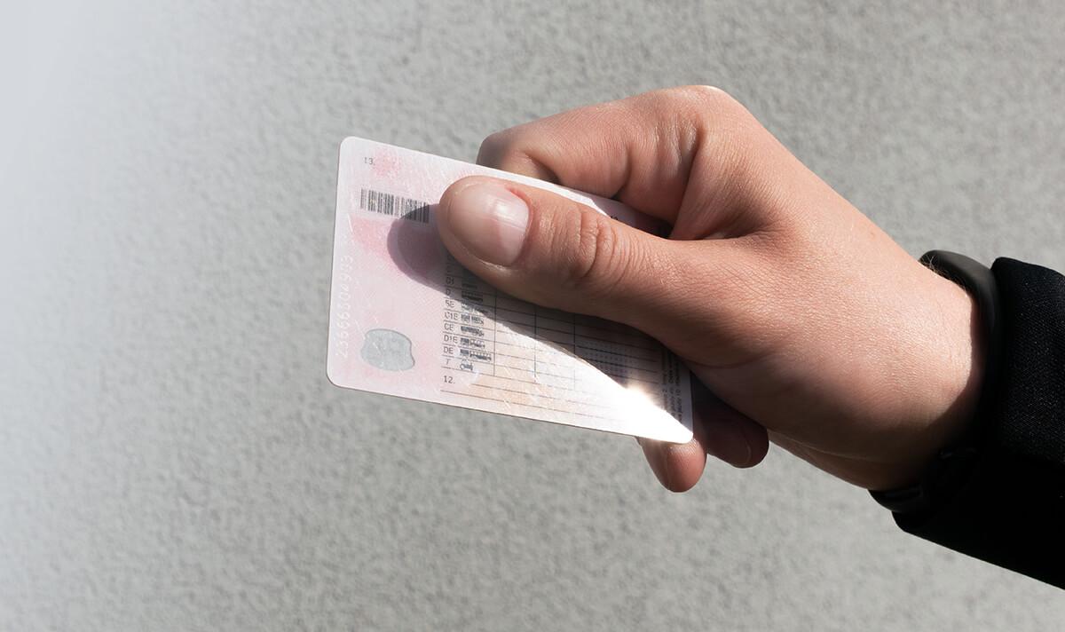 Odbiór prawa jazdy