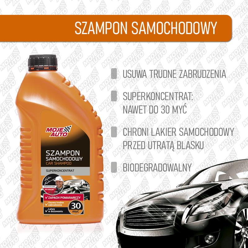 Czym umyć auto - szampon bezwosku