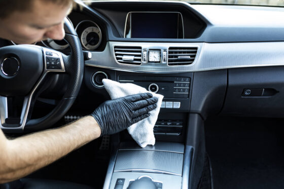 Czyszczenie wnętrza auta