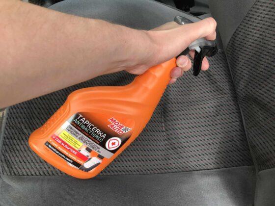 Preparat doczyszczenia tapicerki Antibactterico 3w1 MojeAuto