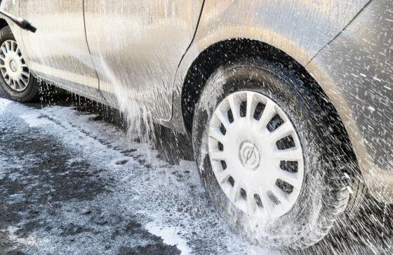 Aktywna piana: mycia auta