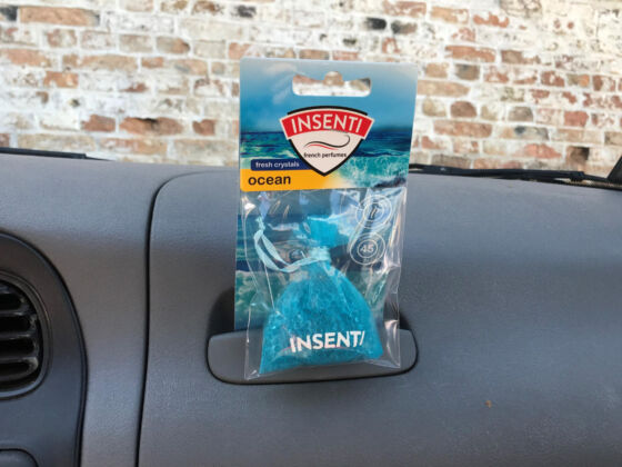 Odświeżacz powietrza Insenti Fresh Crystals Ocean MojeAuto