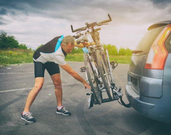 Bagażnik rowerowy nahak