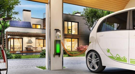 Samochody elektryczne ładowanie