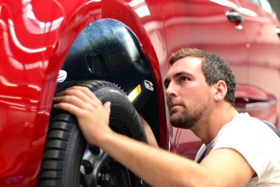 Przegląd samochodu - hamulce