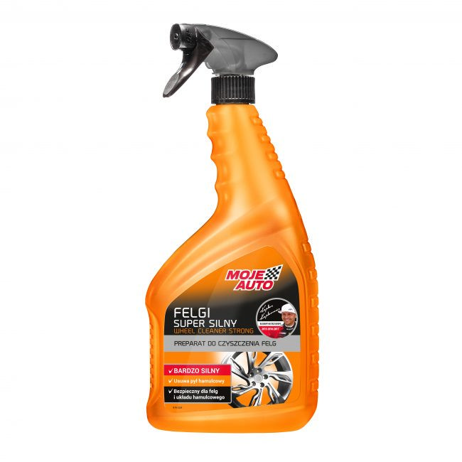 Preparat do czyszczenia felg super silny Moje Auto