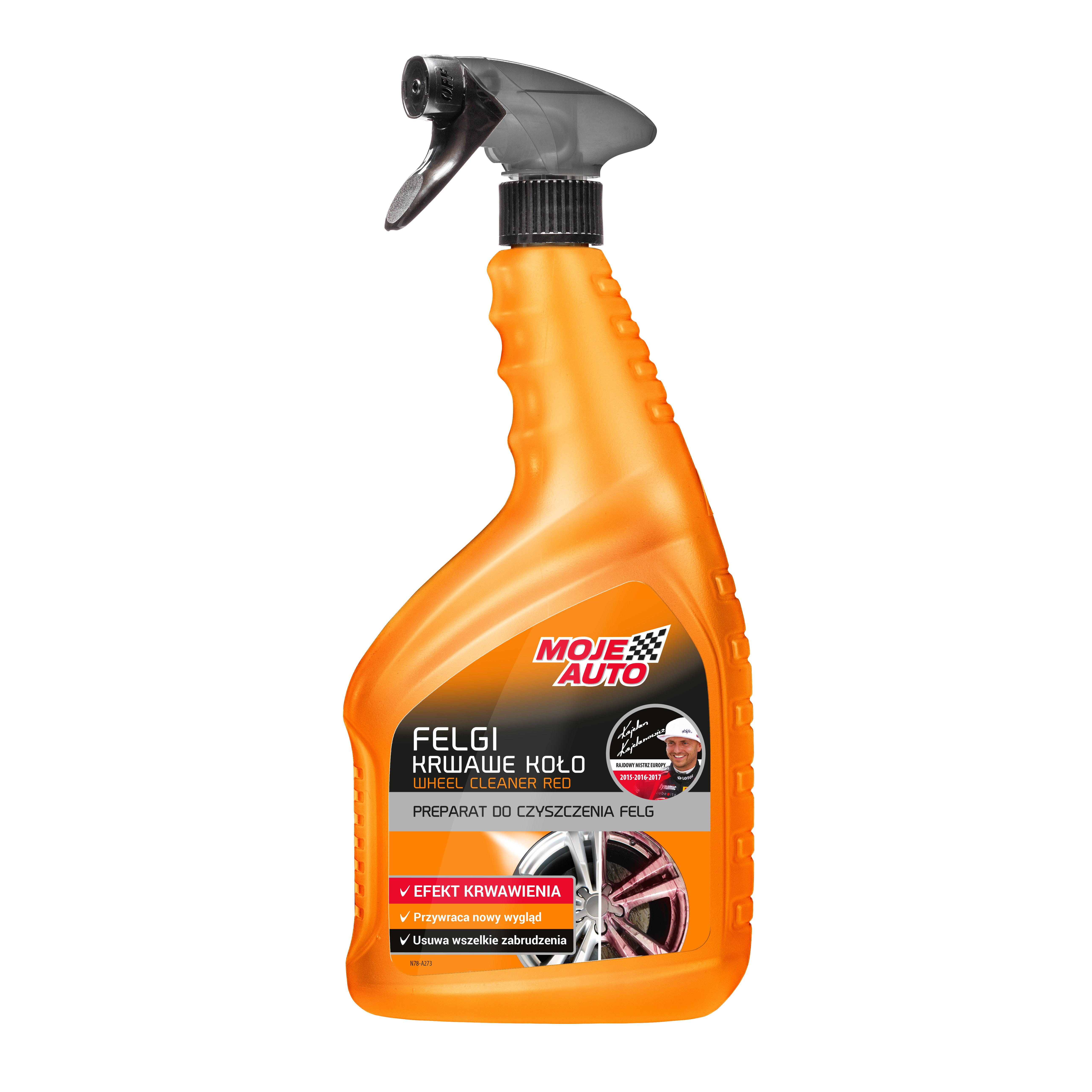 Preparat do czyszczenia felg Krwawe Koło Moje Auto