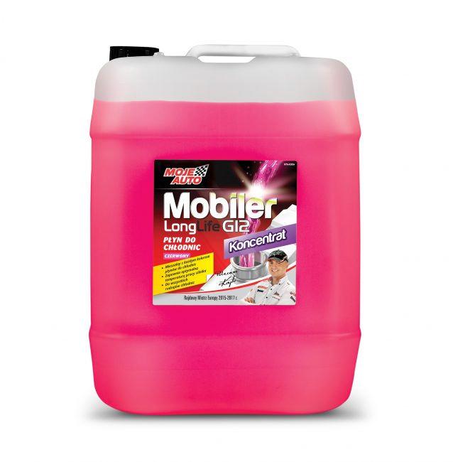 Mobiler Płyn do chłodnic koncentrat G12 Czerwony 20 litrów - 61-013