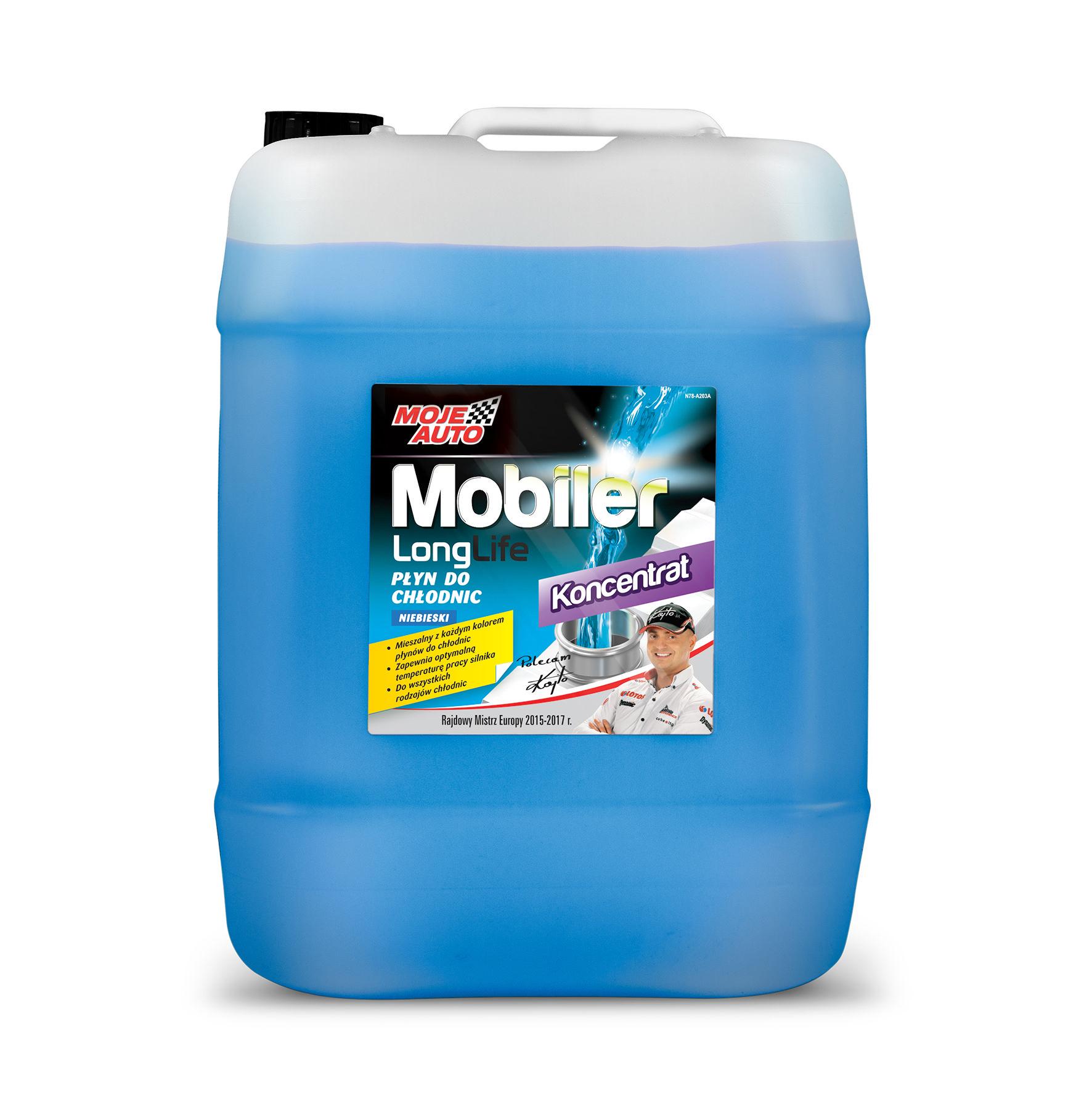 Mobiler koncentrat płynu chłodniczego niebieski - 20 litrów - 61-014