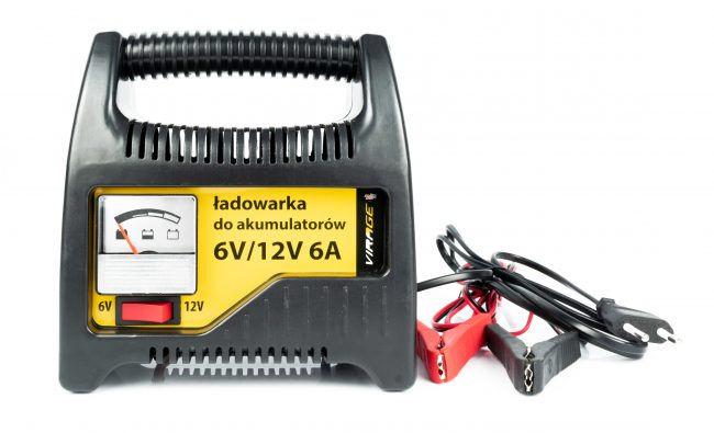 Ładowarka 6V/12V 6A - 93-038